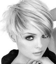 Hairstyle-For-Short-Hair bw